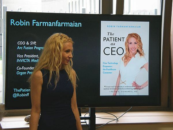 Robin Farmanfarmaian - Patient als CEO