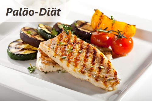 Paläo-Diät-Mahlzeit